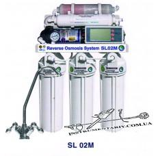 Система обратного осмоса Bio+systems RO-50-SL02M с насосом и минерализатором
