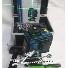 Уровень лазерный Kraissmann 12 3D-LL 25 3D зелёный луч