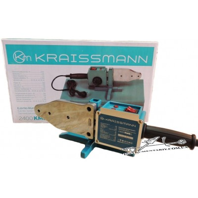 Паяльник для пластиковых труб Kraissmann 2400 EMS 6