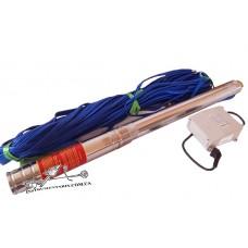 Насос скважинный Optima 4SDm3/10 0,75 кВт кабель 50 м