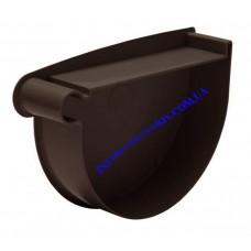 Заглушка воронки левая водосточной системы RAINWAY 130 мм (шт)
