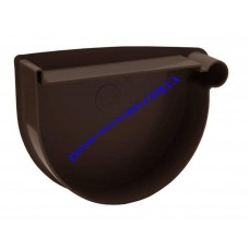 Заглушка воронки правая водосточной системы RAINWAY 130 мм (шт)