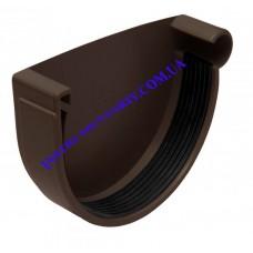 Заглушка желоба правая водосточной системы RAINWAY130 мм (шт)