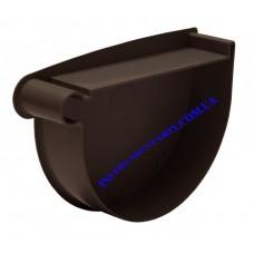Заглушка воронки левая водосточной системы RAINWAY 90 мм (шт)