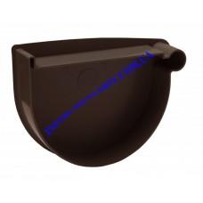 Заглушка воронки правая водосточной системы RAINWAY 90 мм (шт)
