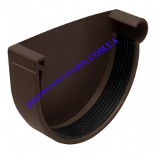 Заглушка желоба правая водосточной системы RAINWAY 90 мм (шт)