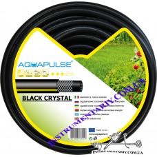 "Шланг для полива Aquapulse Black Crystal 25 м 1"""