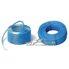 Труба полиэтиленовая синяя EVSI 20 мм 6 атм. (питьевая)