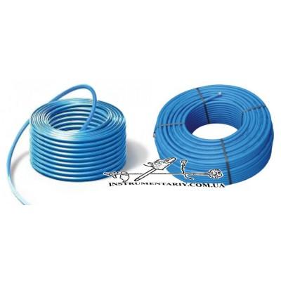 Труба полиэтиленовая синяя EVSI 25 мм 6 атм. (питьевая)