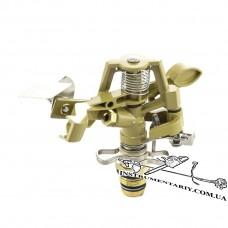 Дождеватель Presto-PS ороситель импульсный для газона металлический 1/2 дюйма 8104