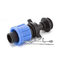Стартер с резинкой для капельной ленты Presto-PS (PO-0117)