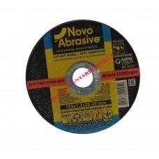 Диск отрезной по металлу 125x1,2 мм. Novo Abrosive