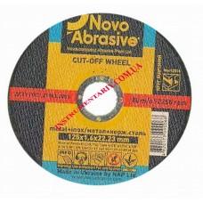 Диск отрезной по металлу 125x1,6 мм. Novo Abrosive