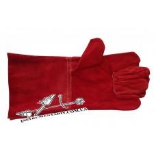 Перчатки сварщика (замш) - перчатки для сварочных работ
