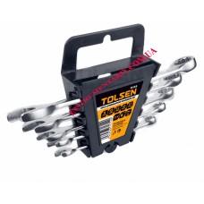 Комплект комбинированных ключей 5 шт в чехле 8-10-12-14-17 мм Tolsen