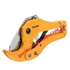 Ножницы (труборез) 200мм для резки ПВХ труб 3-42мм Tolsen