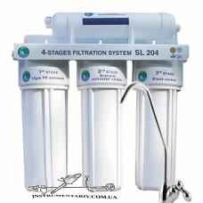 Система 4-х ступенчатой очистки Bio+ systems SL204 с краном