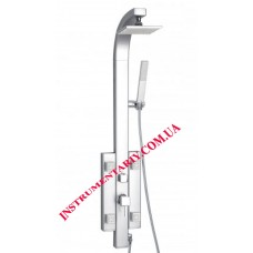 Душевая панель Q-tap Shower SIL-1102