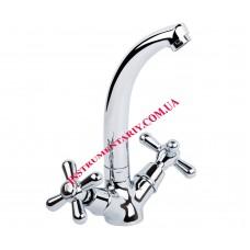 Смеситель для кухни Q-tap Dominox CRM-272 Ceramic